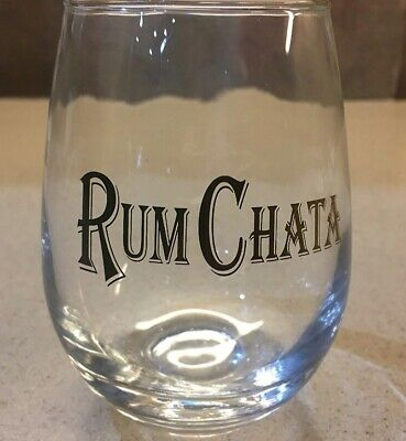 Set of Two New Rum Chata Official Tumblers