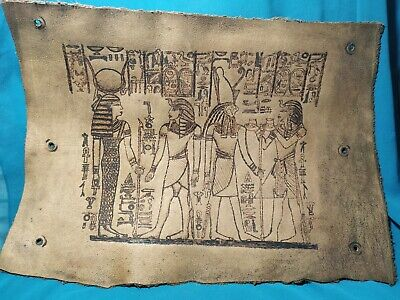 Pharaonic leather is very rare ancient civilization of Egypt