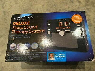 Sound Oasis - Sound Therapy System Deluxe S-5000
