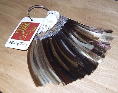 René Of Paris Hair Sample Colour Swatch Ring for Wigs - 45 Rings