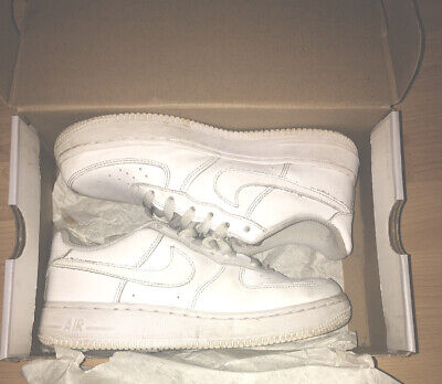 Details about Nike Air Force 1 Mid 07 WhiteWhite 366731 100 Women's Size 5