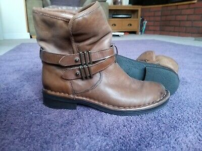 brevitt leather ankle boots
