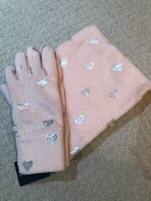 Gap Girls Snood And Gloves
