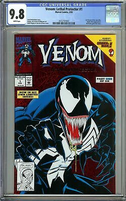 Venom: Lethal Protector #1 CGC 9.8 1st Solo Title Red Foil Cover Tom Hardy Movie