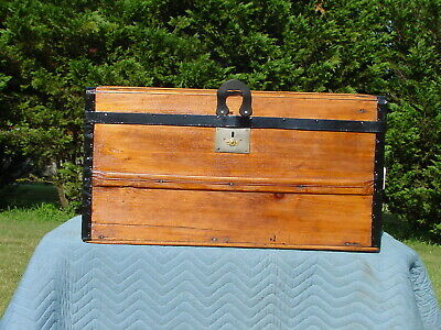 Antique Trunk  Charming Restoration Circa the 1860'S-70's As Much As160 Yrs Old