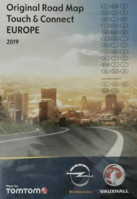 OPEL NAVIGATION Micro SD Card TOUCH & CONNECT Map EUROPE 2019