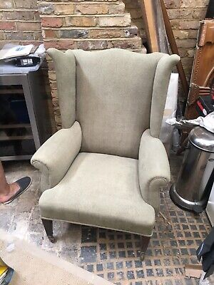 Antique Chair - Unusual Design - To Be Re-Upholstered