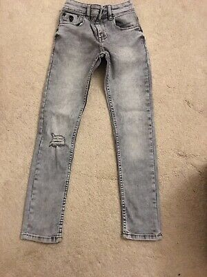 Boys Next Super Skinny Jeans Age 9 Brand New