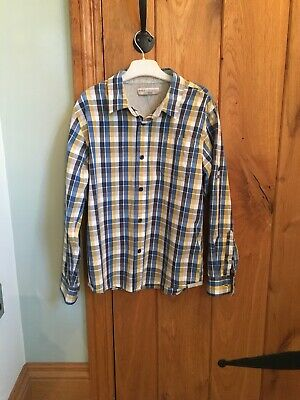 Boys Marks & Spencer Indigo Collection Multicoloured Checked Shirt Age 11 Years