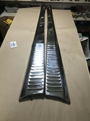 with hardware BEETLE Running boards AC8986822 plain s//steel pair