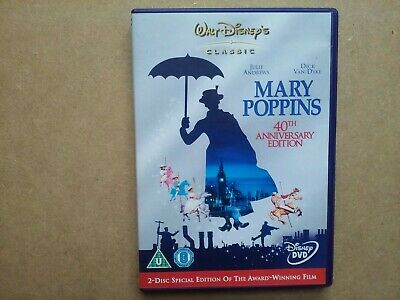 Walt Disney - Mary Poppins - 2 Disc Special Edition - Musical Adventure  (DVD)