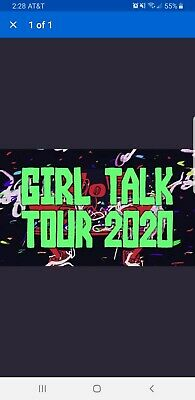 Girl Talk Tickets Pittsburgh,PA Stage AE Saturday 5/1/20 GA SOLD OUT!
