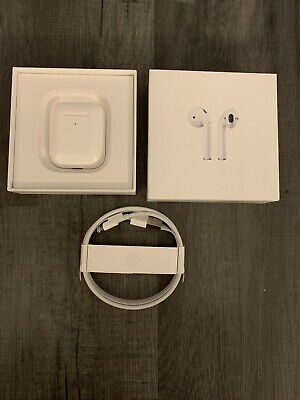 Apple AirPods 2nd Generation with Charging Case - White Brand new