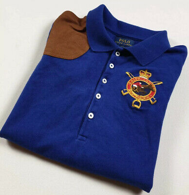 🔥Genuine 🔥 Boys Kids RALPH LAUREN Polo T Shirt Jumper SIZE LRG  Age 12 13 14