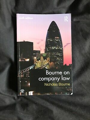 Bourne on Company Law by Nicholas Bourne (Paperback, 2013)