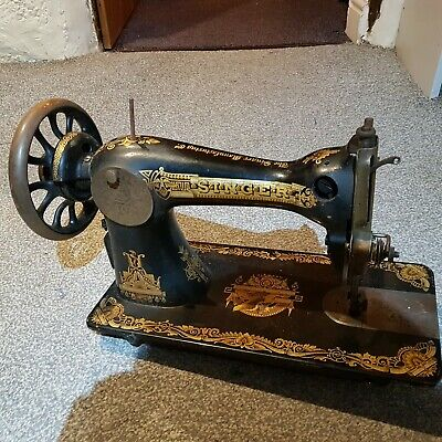 Singer sewing machine treddle 1910 model 15k Egyptian Memphis machine only