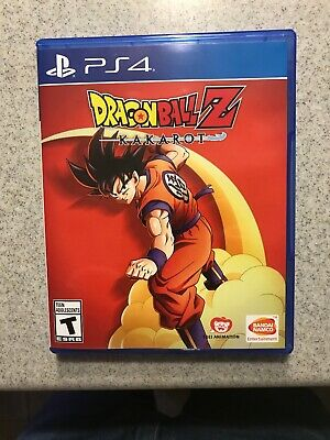 Dragon Ball Z: Kakarot PS4 PlayStation 4 Game *Excellent Condition*