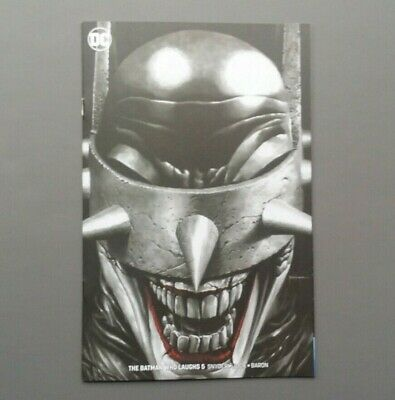 Batman Who Laughs #5 Exclusive Mico Suayan Sketch Unknown Comics Variant NM