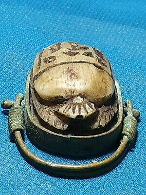 Pharaonic ring very beautiful and rare ancient Egypt civilization.. 2