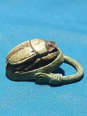 Pharaonic ring very beautiful and rare ancient Egypt civilization.. 7