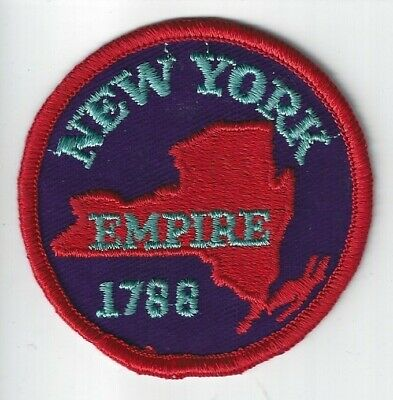 New York Empire state Souvenir patch NY