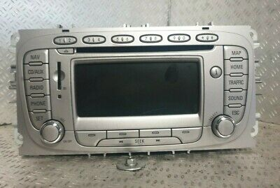 Ford S-Max 2010 - 2014 Stereo System Cd Player Navigation 8S7T 18K931 Ae
