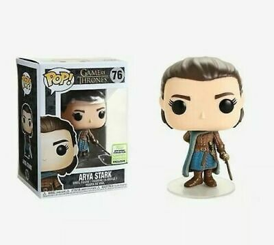 Funko POP! Game of Thrones Arya Stark #76 2019 Spring Convention Exclusive MINT