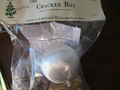 The Cracker Box Ornament Kit - Crystal Ice