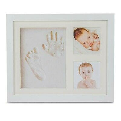 Baby Hand and Footprint Photo Frame Kit   Baby Boy Gift   Baby Girl Gift     New