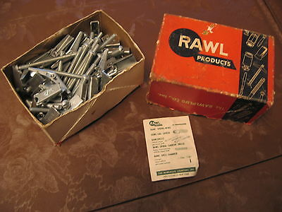 """RAWL SPRING-WINGS 3/16"""" ROUND HEAD TOGGLE BOLTS 3"""" --69 screws & 77 bolts"""