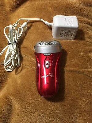 Emjoi Emagine AP-18R Rechargeable 72 Tweezer Head Epilator -Red