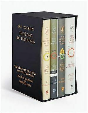 The Lord of the Rings Boxed Set - 4 x Hardcover Books By: J. R. R. Tolkien