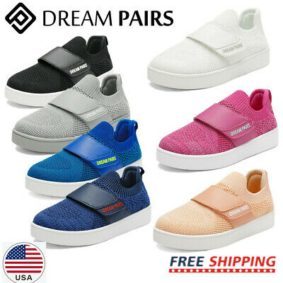 DREAM PAIRS Kids Sneakers Boys Girls Mesh Toddler Sporty Tennis Shoes Youth