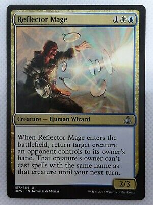 Human Wizard Unc 4 x STORMCHASER MAGE NM mtg Oath of the Gatewatch Gold