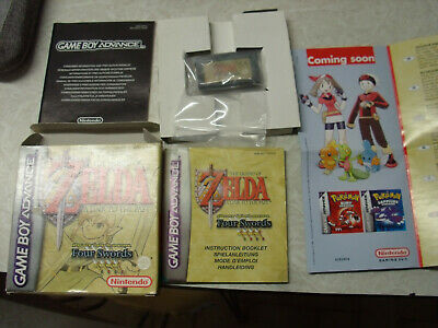 The Legend of ZELDA a Link to The Past/Game Boy Advance Complet-Boite complète