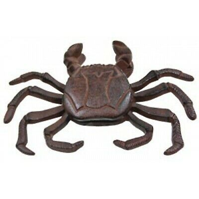 Coastal Crab Shaped Cast Iron Rust Finish Door Knocker