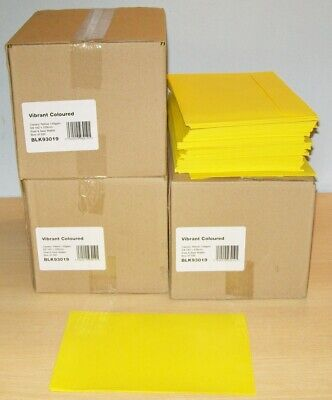 ENVELOPES x800+ (3 x 250 boxes plus loose) C5 162 x 229mm Canary Yellow 128gsm