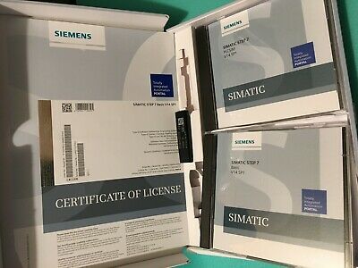 Siemens Simatic 14 SP1 PLC Programming Software 6ES7822-0AA04-0YA5