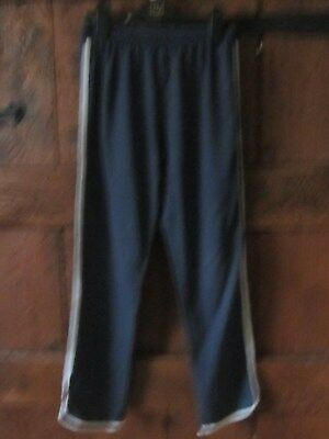 Next Girls Navy/White Joggers. Track Suit Bottoms 11 Years