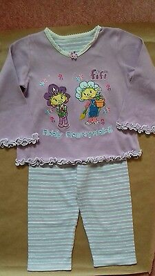 GIRLS PYJAMAS FIFI AND THE FLOWERTOTS 1-4 YEARS OLD
