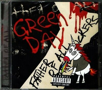 Cd Green Day Father Of All Brand New Sealed 2020 Explicit Version