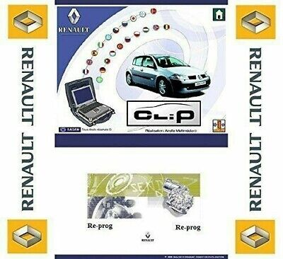 2018 VERSION⭐RENAULT CLiP⭐ MAIN DEALER DIAGNOSTIC SOFTWARE⭐FAST SECURE DOWNLOAD✔