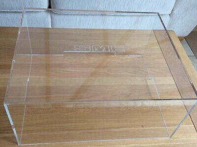 SME 20/2 turntable cover. Perspex.  SME logo, brand new sealed box