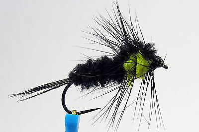 6 Choice Size 4 10 or 12 Montana Fly CO J./'s Bird Turd Nymph Weighted 8 1 A