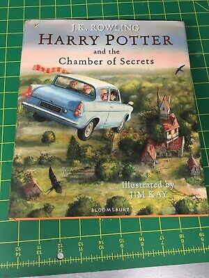 Harry Potter and the Chamber of Secrets Illustrated Edition - JK Rowling/Jim Kay