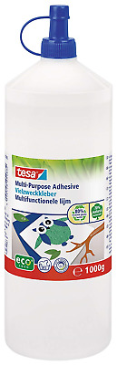 tesa 57022 Washable Multi-Purpose Clear Craft Glue for use on Paper, Card and