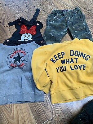 Bundle Girls Winter/spring Clothes Age 5 -7 Years Next,primary,H&M,converse