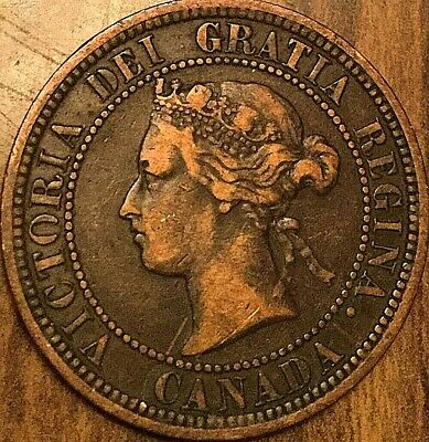 1882 H Canada Large Cent Large 1 Cent Penny