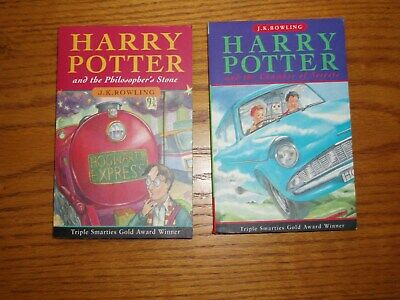 Harry Potter and the Philosophers Stone/Chamber of Secrets - First Editions