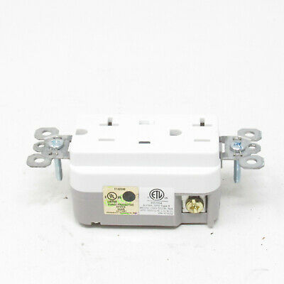 Pass & Seymour 20A Surge Protective Receptacle 5362-WSP
